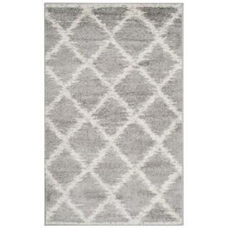 Safavieh Adirondack Modern Trellis Silver/ Ivory Rug (2'6 x 4')