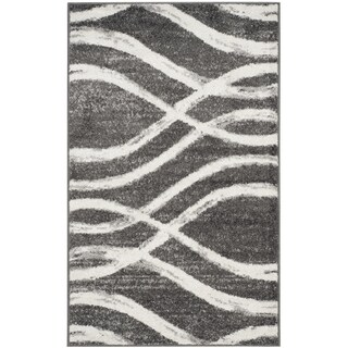 Safavieh Adirondack Modern Charcoal/ Ivory Rug (2'6 x 4')