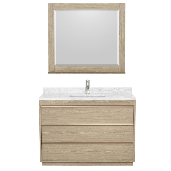 Wyndham Collection Naya 48-inch Ash Grey Single Vanity