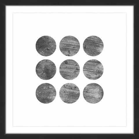 Porch & Den 'Alignment' by Bryon White Framed Multi Wall Art Print