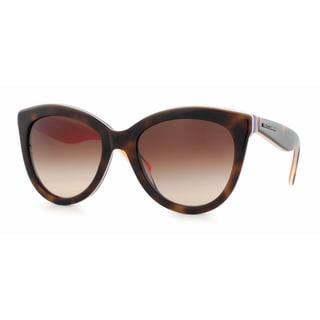 Dolce&Gabbana Women DG4207 MULTICOLOR 276513 Havana Plastic Cat Eye Sunglasses