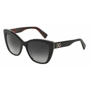 Dolce&Gabbana Women DG4216 29408G Plastic Plastic Rectangle Sunglasses