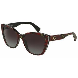 Dolce&Gabbana Women DG4216 29388G Plastic Plastic Rectangle Sunglasses