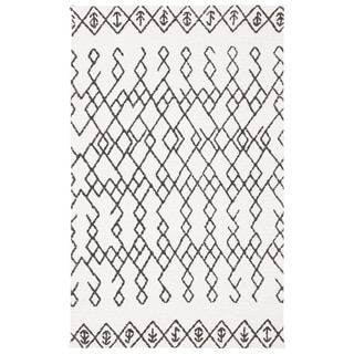 Safavieh Cedar Brook Contemporary Handmade Ivory/ Black Jute Rug (2' 6 x 4')