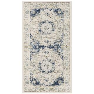 safavieh evoke vintage oriental ivory blue distressed rug 2u0027 2 x