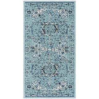 Safavieh Evoke Vintage Oriental Light and Dark Blue Distressed Rug (2' 2 x 4')