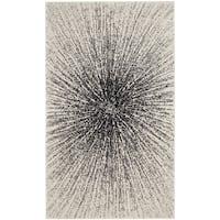 Safavieh Evoke Vintage Abstract Burst Black/ Ivory Distressed Rug (2' 2 x 4')