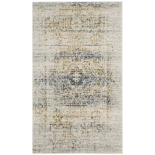 Safavieh Evoke Vintage Distressed Ivory / Blue Distressed Rug (2'2 x 4')