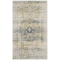Safavieh Evoke Vintage Distressed Ivory / Blue Distressed Rug - 2'2 x 4'