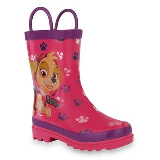 Nickelodeon Girls' Paw Patrol Pink Rubber Rain Boots https://ak1.ostkcdn.com/images/products/13292446/P20003527.jpg?impolicy=medium