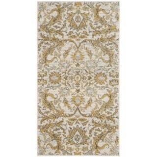 Safavieh Evoke Vintage Ivory / Gold Distressed Rug (2' 2 x 4')