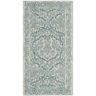 Safavieh Evoke Vintage Oriental Ivory / Light Blue Distressed Rug (2' 2 x 4')