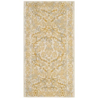 Safavieh Evoke Vintage Oriental Ivory / Gold Distressed Rug (2' 2 x 4')