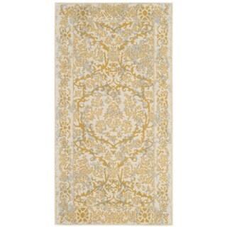 Safavieh Evoke Vintage Oriental Ivory / Gold Distressed Rug - 2'2 x 4'
