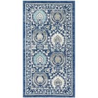 Safavieh Evoke Vintage Blue/ Ivory Distressed Rug - 2'2 x 4'