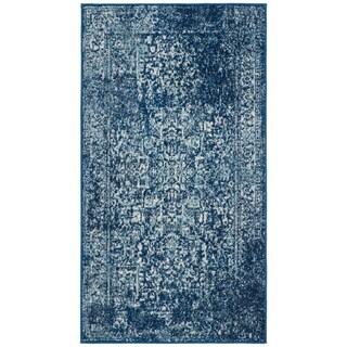 Safavieh Evoke Vintage Oriental Navy / Ivory Distressed Rug (2' 2 x 4')