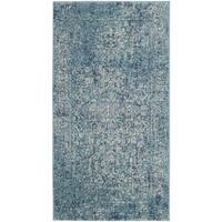 Safavieh Evoke Vintage Oriental Blue/ Ivory Distressed Rug - 2'2 x 4'