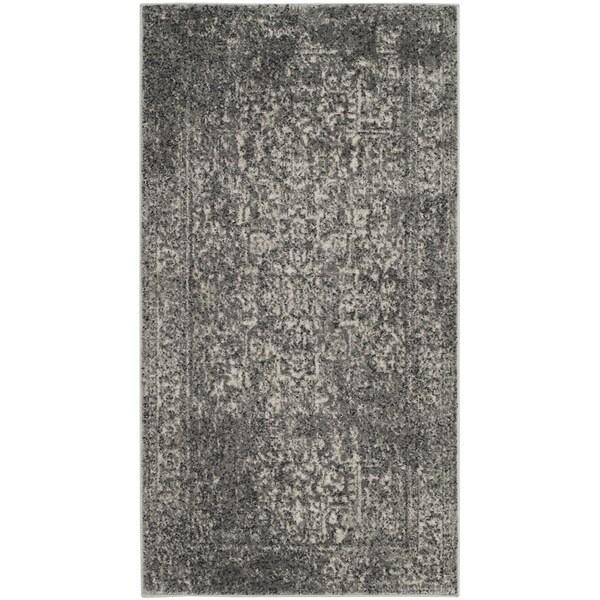 Safavieh Evoke Vintage Oriental Grey / Ivory Distressed Rug - 2'2 x 4'