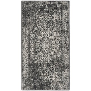 Safavieh Evoke Vintage Oriental Black/ Grey Distressed Rug (2' 2 x 4')