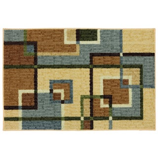 Mohawk Home Connexus Overlapping Squares Area Rug (2'6x3'10)