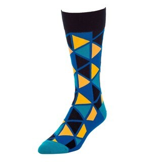 STROLLEGANT Dimension Men's 1 Pair Size 10-13 Crew Socks