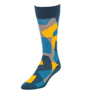 STROLLEGANT Fractal Men's 1 Pair Size 10-13 Crew Socks
