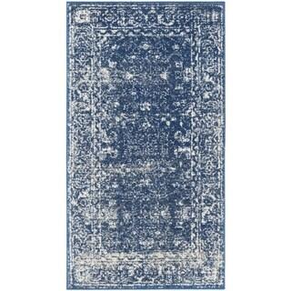 Safavieh Evoke Vintage Oriental Navy Blue/ Ivory Distressed Rug (2' 2 x 4')