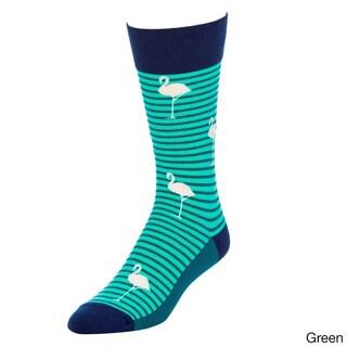 STROLLEGANT Paradise Men's 1 Pair Size 10-13 Crew Socks