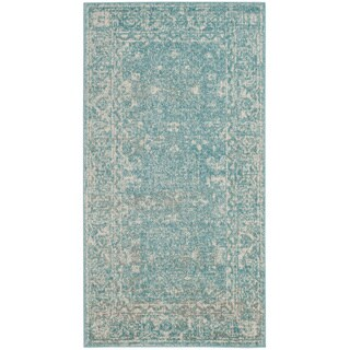 Safavieh Evoke Vintage Oriental Light Blue/ Ivory Distressed Rug - 2'2 x 4'
