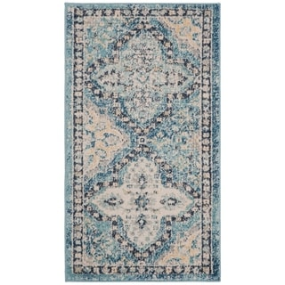 Safavieh Evoke Vintage Light Blue/ Ivory Rug (2' 2 x 4')