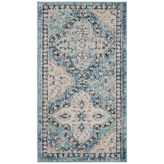 Safavieh Evoke Vintage Light Blue/ Ivory Distressed Rug (2' 2 x 4')