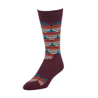 STROLLEGANT Full moon Men's 1 Pair Size 10-13 Crew Socks