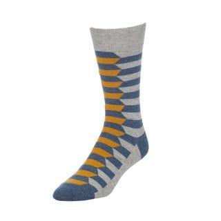 STROLLEGANT Mirror Men's 1 Pair Size 10-13 Crew Socks