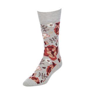 STROLLEGANT Peony Men's 1 Pair Size 10-13 Crew Socks