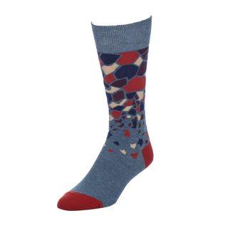 STROLLEGANT Quake Men's 1 Pair Size 10-13 Crew Socks