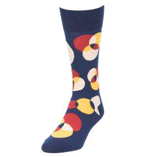 STROLLEGANT Spotlight Men's 1 Pair Size 10-13 Crew Socks