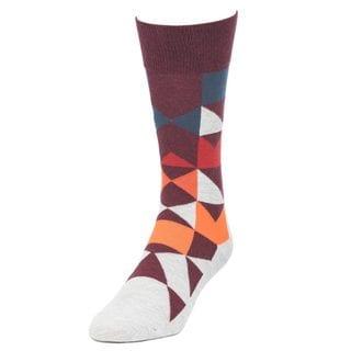 STROLLEGANT Enigma Men's 1 Pair Size 10-13 Crew Socks
