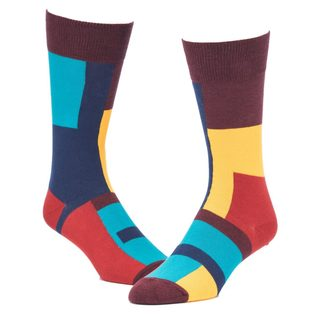 STROLLEGANT Escher Men's 1 Pair Size 10-13 Crew Socks
