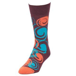 STROLLEGANT Whirl Men's 1 Pair Size 10-13 Crew Socks