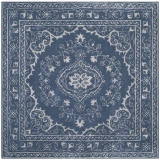 Safavieh Handmade Glamour Contemporary Bohemian Blue Viscose Rug (2' x 3')