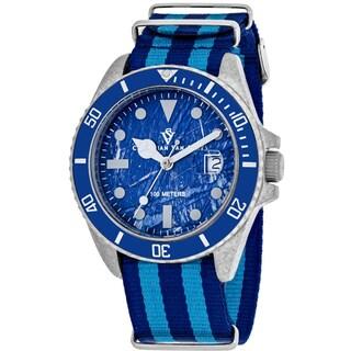 Christian Van Sant Men's CV5103NBLB Montego Vintage Watches