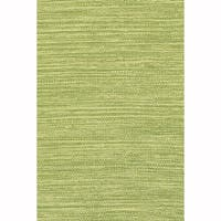 "Artist's Loom Flatweave Contemporary Solid Pattern Cotton Rug (7'9""x10'6"")"
