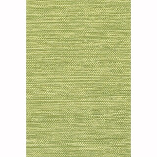 """Artist's Loom Flatweave Contemporary Solid Pattern Cotton Rug (7'9""""x10'6"""")"""