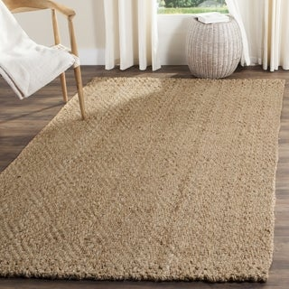 Safavieh Natural Fiber Diamond Weave Handmade Natural/ Natural Jute Rug (2' 3 x 4')