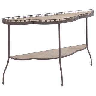 Clementine Scalloped Sofa Table