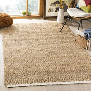 Safavieh Natural Fiber Contemporary Handmade Ivory/ Natural Jute Rug (2' x 3')