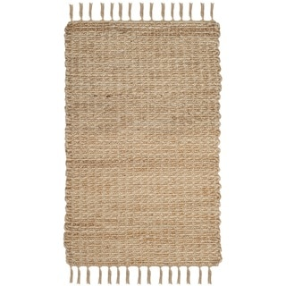 Safavieh Natural Fiber Contemporary Handmade Natural Jute Rug (2' 6 x 4')