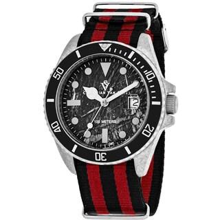 Christian Van Sant Men's CV5100NRB Montego Vintage Watches