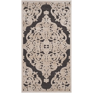 Safavieh Paradise Watercolor Vintage Stone/ Anthracite Viscose Rug (2'3 x 3'11)