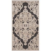 Safavieh Paradise Watercolor Vintage Stone/ Anthracite Viscose Rug - 2'3 x 3'11